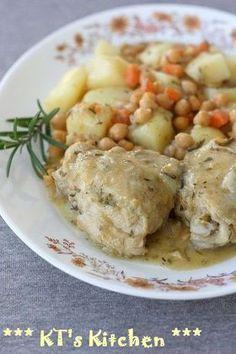 鶏肉とひよこ豆のキャセロール