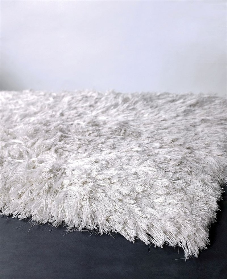shaggy rugs celecot shag rug in white at poshtots