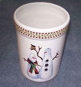 Debbie Mumm Sakura Snowman Stoneware Utensil Crock & 195 best Debbie Mumm 25 Years of Design images on Pinterest ...