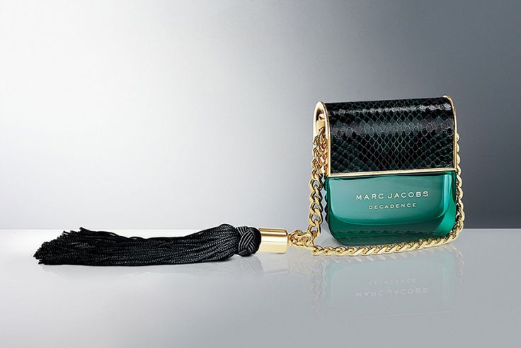 "Marc Jacobs Decadence ~ Marc Jacobs presents Decadence, his first ""mature"" fragrance in 2015. Each of his pillar fragrances represents a distinctive character: Daisy is a sweet girl next door, Lola is quirky, and Decadence is sexy and sophisticated."