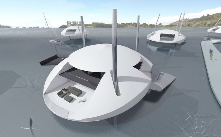 La maison flottante qui affronte les défis climatiques, Tidal House par Terry-Terry Architecture - Usa #construiretendance