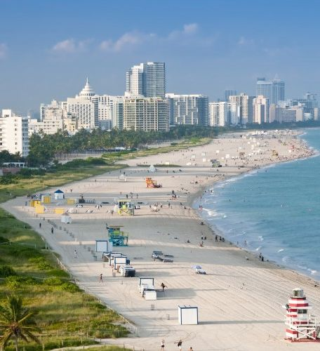 Travel Itinerary for South Beach, Miami, Florida