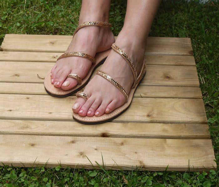 "Bridal sandals, Handmade Greek Leather sandals, Strappy Sandals, Luxurious sandals, Wedding sandals ""Kalypso"""