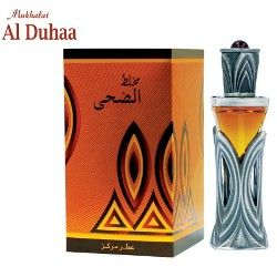 MUKHALAAT AL DUHAA  Sweet, musky,ambery,woody, oudy and spicy.