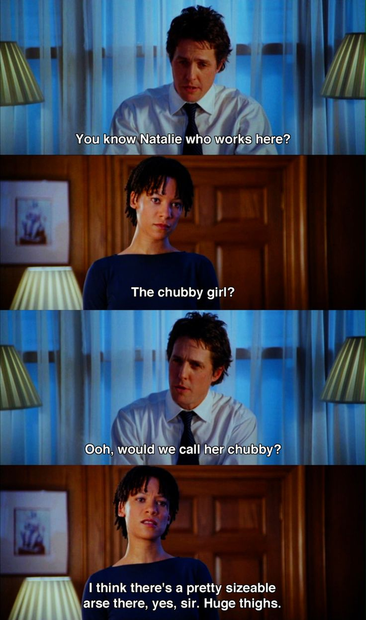 Love Actually 2003 Movie Quotes