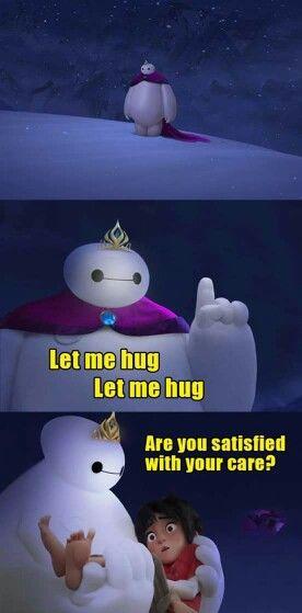 Frozen (Elsa) + Big Hero 6 (Baymax) crossover!