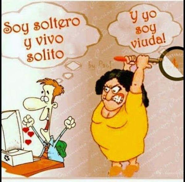 Soy Soltero Y Vivo Solito Web De Humor Grafico Videos Graciosos Chistes Buenos Gifs Animados Vinetas Para Partirse De La Risa Humor Memes Internet Funny