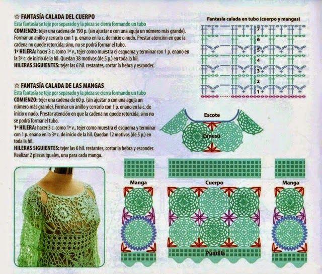 Andreia Lessa Tricô e Crochê: Bata Selena Gomez