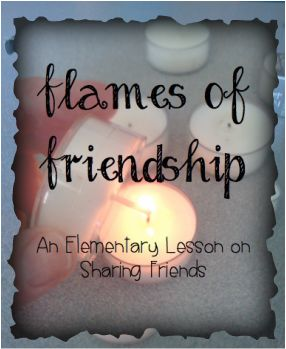 Blog post with elementary lesson (& free printable!) on sharing friends and letting friendships breathe.  From www.schoolcounselingfiles.com