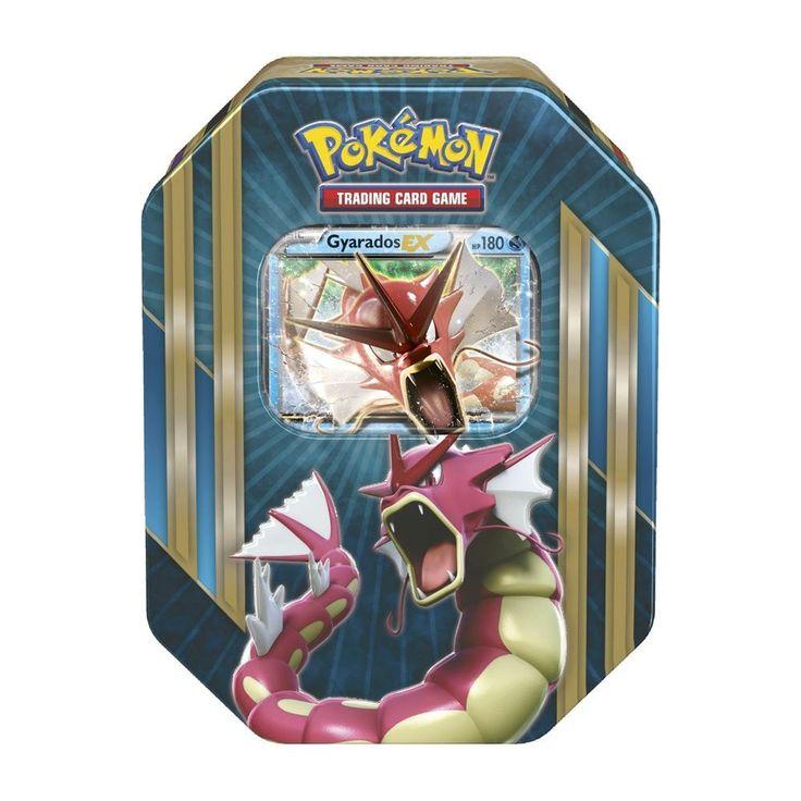 Pokemon TCG Card Game Shiny Gyarados EX Spring 2016 Triple Power Collector's Tin