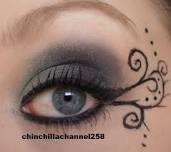 This looks almost like my last years winterguard makeup