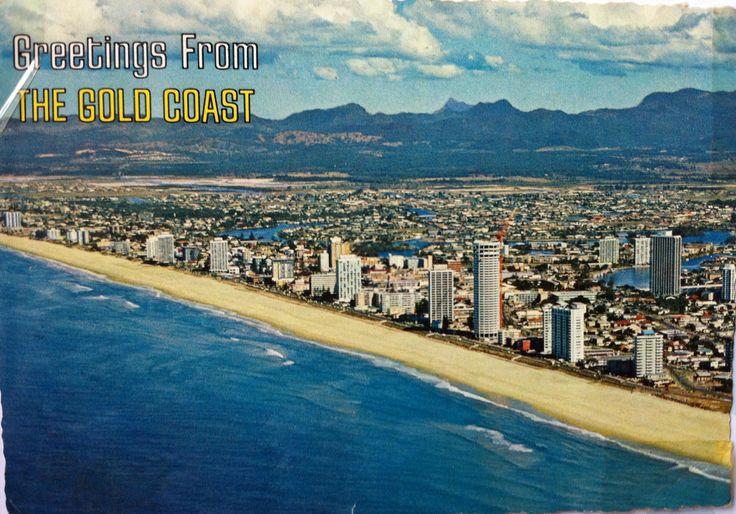 Surfers Paradise Postcard 1976