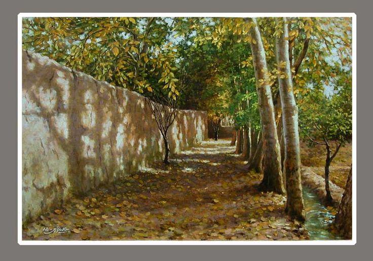 landscape- oil color
