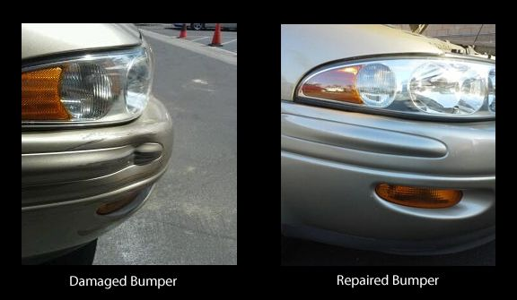 Damaged Bumper Repaired | Mobile bumper & scratch repair at Auto Cosmetic Solutions
