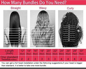 [Promotions]Yiya 1pc/100gram 10″-28″ 7A Tissage Bresilien Cheveux Vierges Ondules Body Wave Hair Weft Noir Naturel 16pouces/40cm