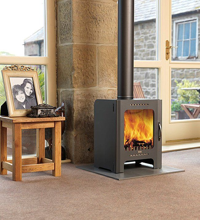 Firebelly FB Contemporary Wood Burning Stove                                                                                                                                                                                 More