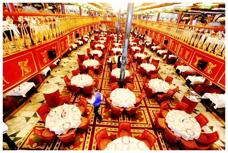 Empire Dining Room on board Carnival Spirit