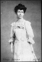 Anna Jarvis, the founder of Mother's Day.  WV was was the first state to adopt the holiday (1910). President Wilson made it official in May of 1914.