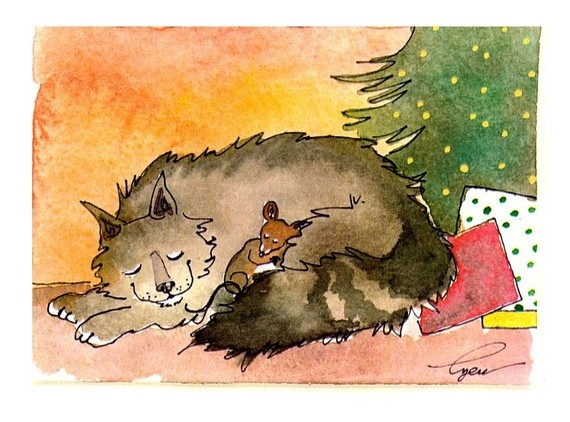 Christmas: Christmas Cards, Christmas Cats, Cards Christmas, Christmas Mice, Greeting Cards, Cards Mouse, Christmas Chillystr, Cat Greeting, Christmas Friends