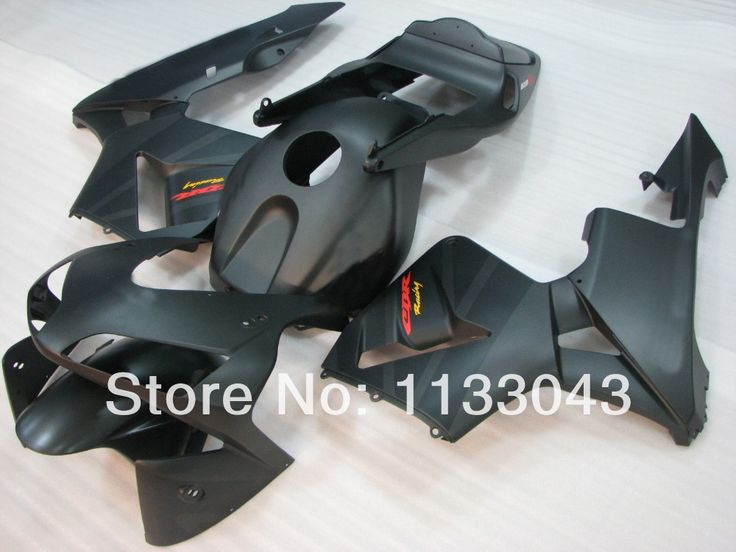 OEM Качества для Инъекций обтекатели для HONDA CBR600RR 03 04 F5 CBR 600 RR 2003 2004 Привет-качество матовый черный обтекатель комплект #33AAL0