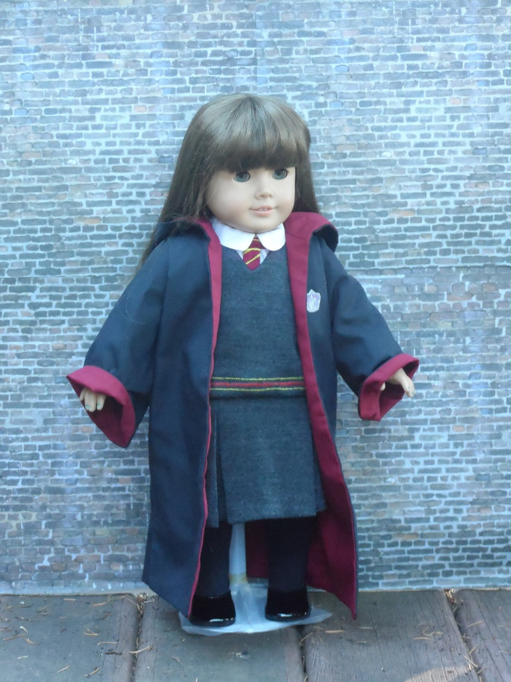 Hermione's or Ginny's Harry Potter Outfit for your American Girl. $125.00, via Etsy.