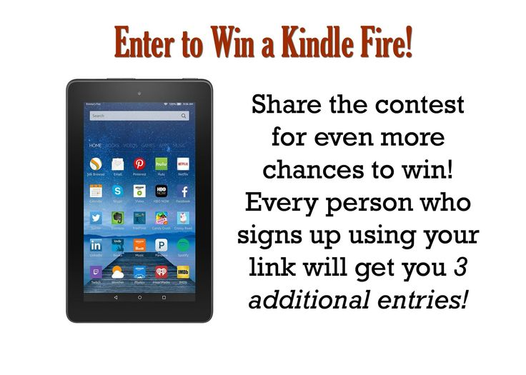 Win a Kindle Fire at the  Bundling Up Online Event