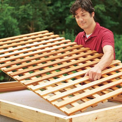 -     How to Build a Wood Lattice Fence -  -     www.thisoldhouse.com  -     INSTALL LATTICE  -     PART 15