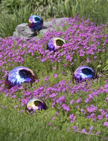 find this pin and more on mirror polished balls for garden decoration by