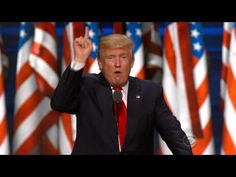 Donald Trump responds on Twitter to Clinton's DNC speech