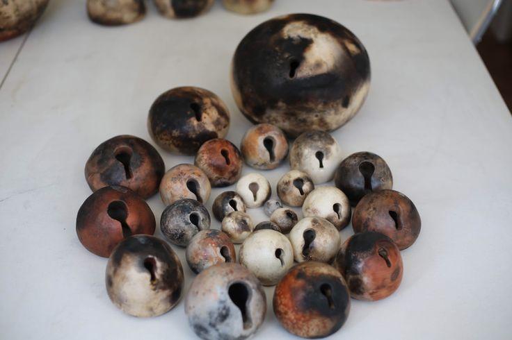 Ceramic art - handbuild -pitfiring