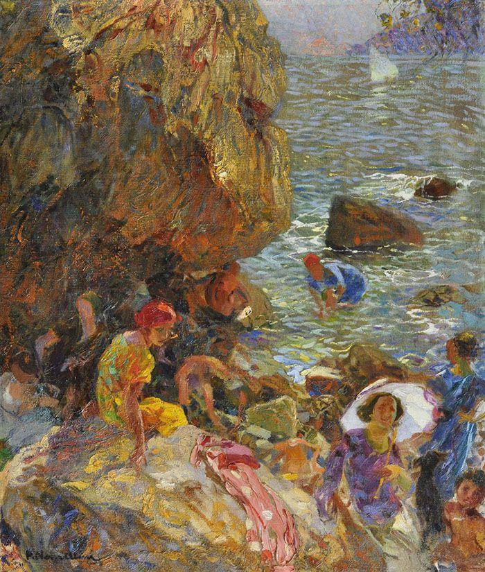 Plinio Nomellini: Estate a Capri, 1923