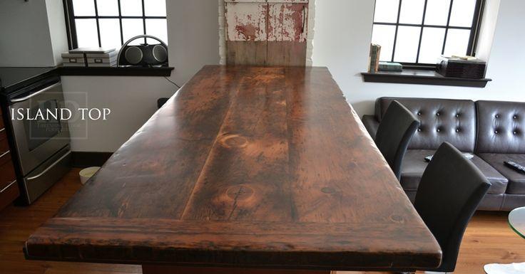Reclaimed Wood Tops HD Threshing Floor Furniture www.hdthreshing.com