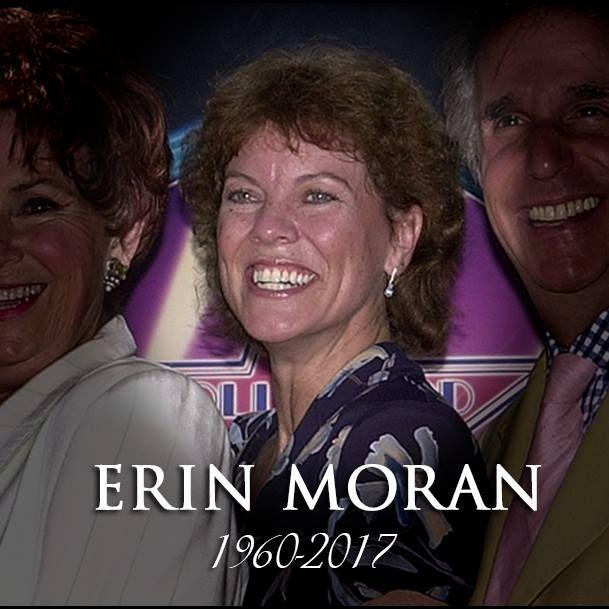 Erin Moran (1960-2017) aka Joanie Cunningham on 70's television show Happy Days