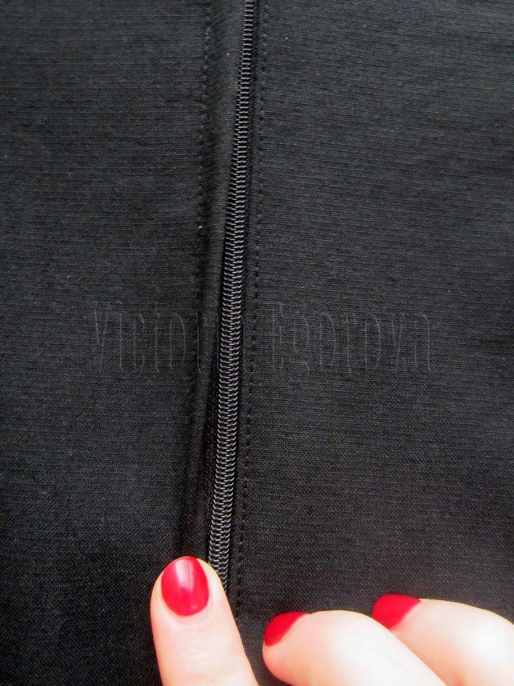 Victoria Egorova: Мастер-класс: как вшить молнию в юбку