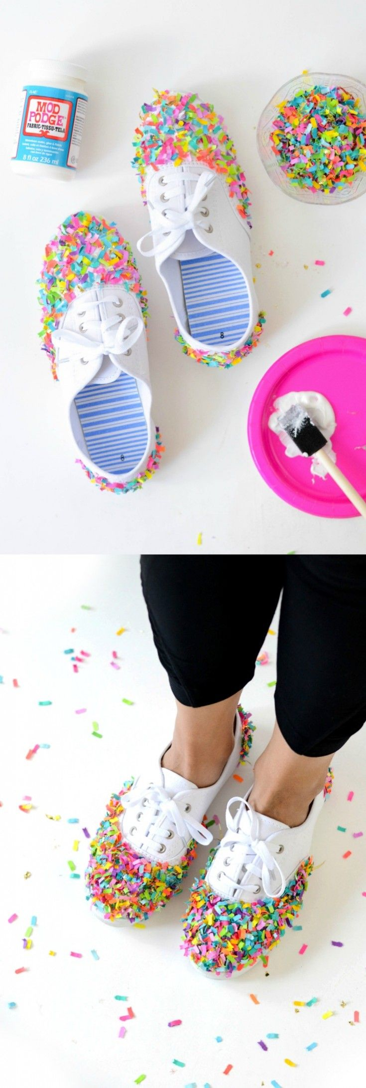 434 best diy fashion images on pinterest | pom poms, shoes and crafts