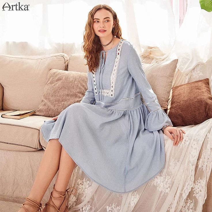 Платье - весенняя новинка от Artka.Доставка в Украину  #artka #бохосукня #бохоплатье #бохоукраина #bohodress