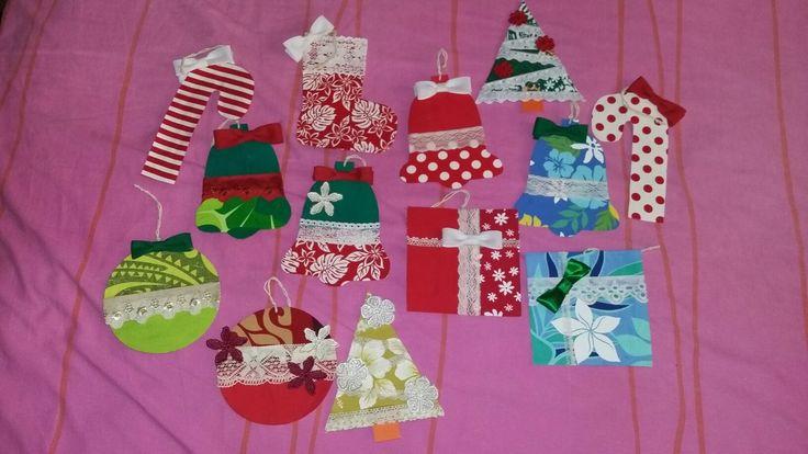 Tahitian Christmas ornaments
