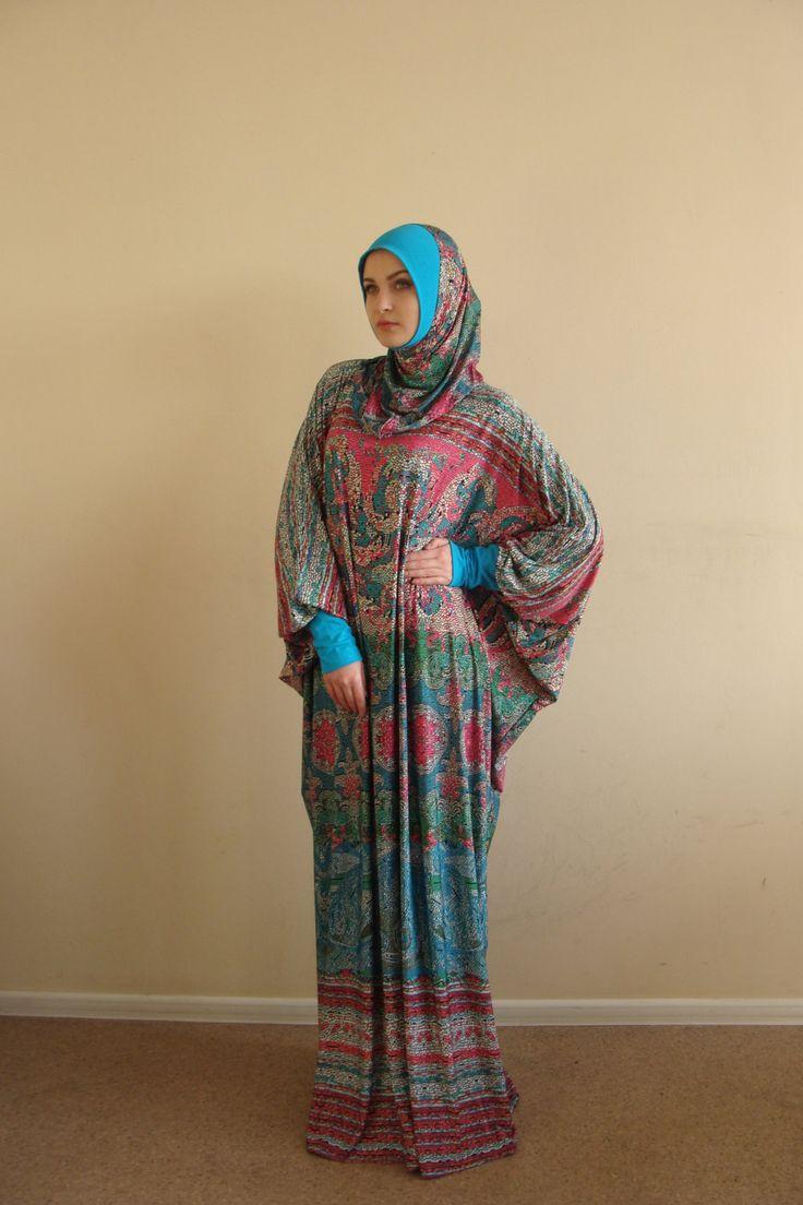 Neujahr Sale Multi Color Maxi Kleid Plus Size von ScarfTurbanHijab