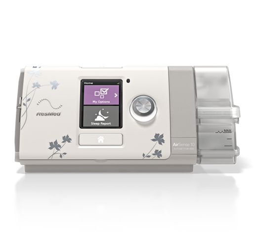 The ResMed AirSense 10 AutoSet for Her is the first APAP machine with an algorithm designed to treat mild to moderate obstructive sleep apnea in females.http://www.resmed.com/us/en/consumer/products/devices/airsense-10-autoset-for-her.html