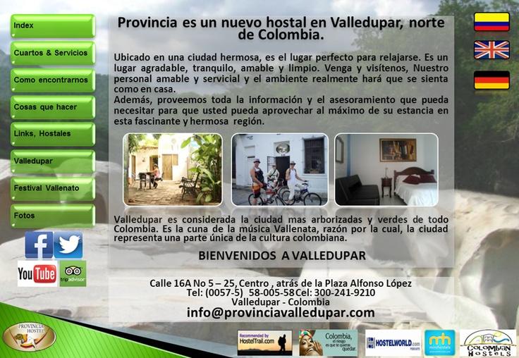 Hotel en Valledupar | Hoteles en Valledupar | Hostal en Valledupar | Hostel Provincia