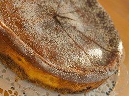 Dýňový koláč s jablky a tvarohem