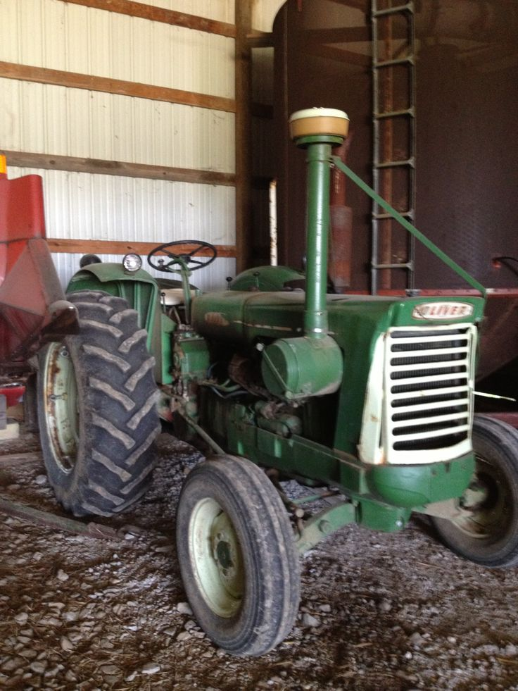 Oliver 990 Tractor : Oliver tractors pinterest tractor