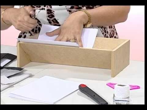 Programa Vida Plena Artesanato: Aprenda a fazer encadernação Convidada: Del Carmen - artesã