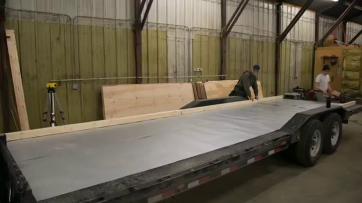 Ana White Tiny House Build: How to Build Floor for Tiny House on Trailer...