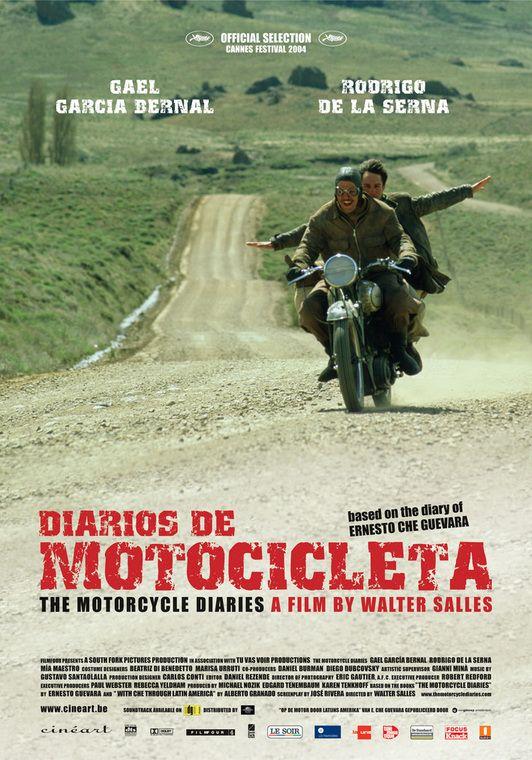 DIARIOS DE MOTOCICLETA (2004): The dramatization of a motorcycle road trip Che…