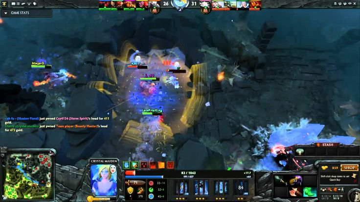 Dota2 Live Stream - Radiant Vs Dire (18.09.2015)