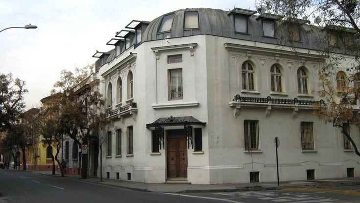 Barrio Yungay. Santiago de Chile