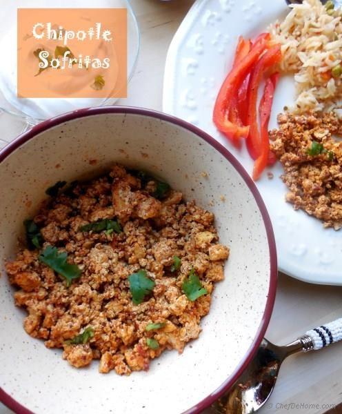 Chipotle Sofritas Recipe | ChefDeHome.com