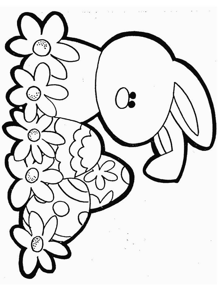 Kolorowanki jajka wielkanocne dla dzieci do druku