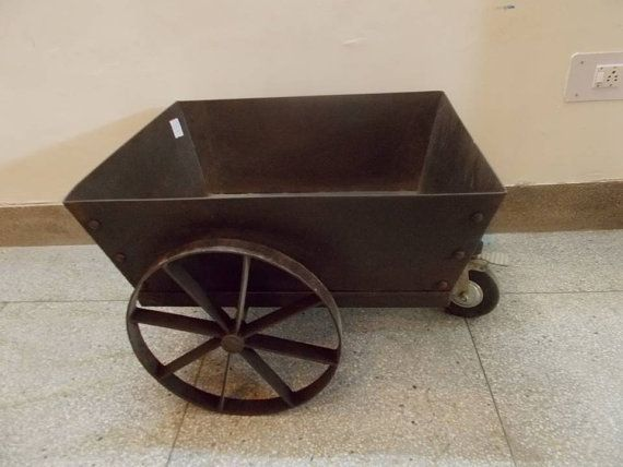 Hey, I found this really awesome Etsy listing at https://www.etsy.com/listing/182447793/industrial-furniture-iron-wheeltrolley